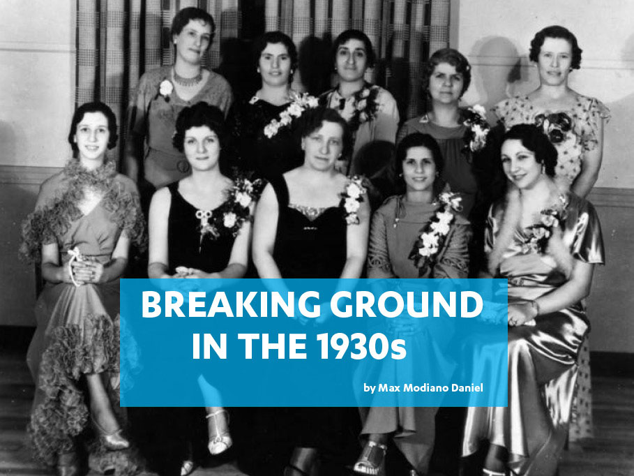 Breaking Ground in the 1930s